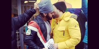 Sikh Knowledge Photo Of Two South Asian Men Kissing Briefly Taken Down By Facebook Huffington Post Canada