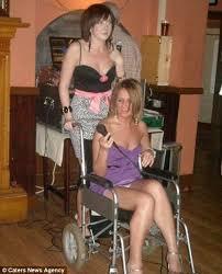 paralyzed female nude|Cumception