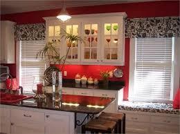 Elegant Kitchen Curtains by Best 25 Red Kitchen Curtains Ideas On Pinterest Kitchen