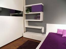 decorations paint colors for small bedrooms with gray and purple