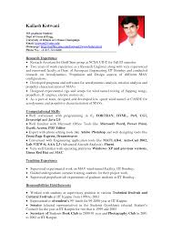 Resume Writing For Teaching Job by 11 Student Resume Samples No Experience Resume Pinterest