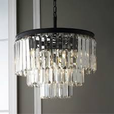 modern crystal chandeliers for dining room lamp world