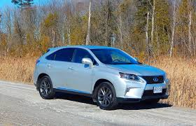 lexus made in canada suv review 2015 lexus rx 350 f sport driving