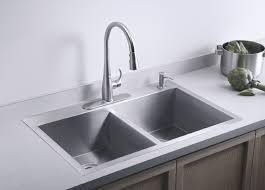 sinks astonishing top mount stainless steel sink overmount
