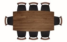 Wooden Chair Front View Png Dining Table Vector Top View Lakecountrykeys Com