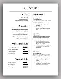 How To Make A Simple Job Resume by How To Create A Simple Resume Free Resume Example And Writing