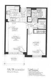 Single Bedroom Apartment Floor Plans by One Bedroom Floor Plan