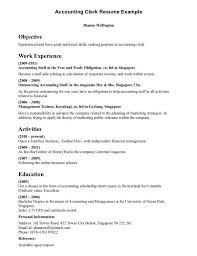 Sample Bookkeeping Resume by Payroll Clerk Sample Resume Payroll Clerk Resume Samples Yofutwn