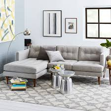 Build Your Own Sectional Sofa by Build Your Own Peggy Sectional Pieces West Elm The Den