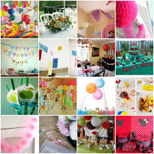 Home Made Decoration by Homemade Decoration Ideas For Birthday Party Wall Decor Wall Party