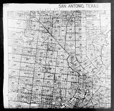 San Antonio Texas Map 1940 Census Enumeration District Maps Texas Bexar County San