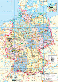 Map Germany by Germany Tourist Map Germany U2022 Mappery