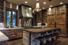 Kitchen Design Rustic by Rustic Modern Kitchen Boncville Com