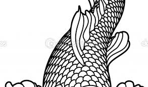 amazing koi fish coloring 68 additional drawings