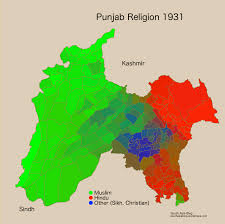 Religions Of The World Map by A Closer Look At How Partition Changed Punjab U0027s Religious Map