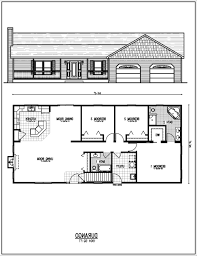 Simple 4 Bedroom House Plans by 4 Bed 3 Bath House Floor Plans Fujizaki