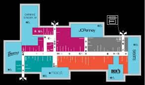 mall map of dover mall a simon mall dover de