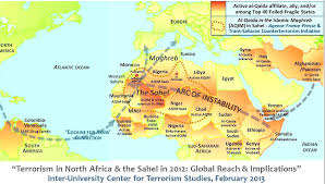 Sub Saharan Africa Physical Map by Is There An Arc Of Instability Geocurrents