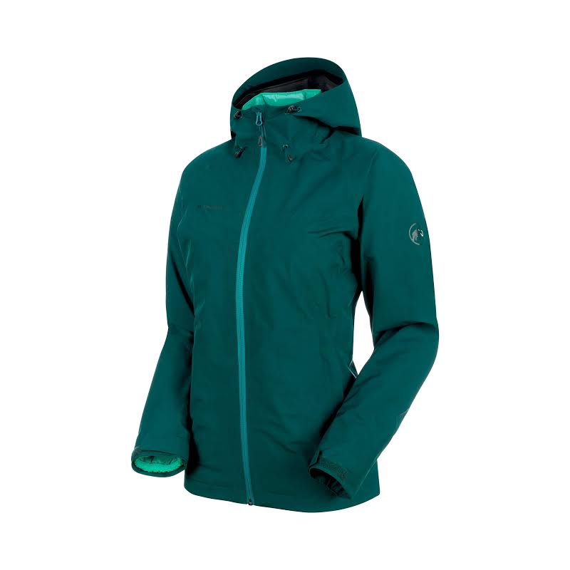 Mammut Convey 3 in 1 Hardshell Hooded Jacket Teal-Atoll S 1010-26490-40027-113