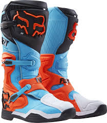 fox instinct motocross boots fox racing new 2017 mx comp 8 dirt bike blue aqua orange