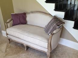 furniture comfortable gray tufted what is a settee with striped