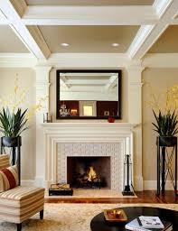 elegant transitional living room design interior used concrete