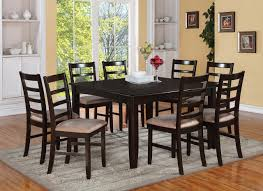 contemporary round dining room tables for 8 set of 4 warehouse m