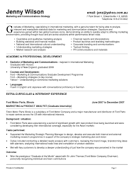 Sample Resumes For Professionals by Marketing And Communications Resume New Grad Entry Level