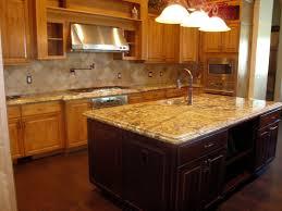 granite countertop tuscan style kitchen cabinets backsplash