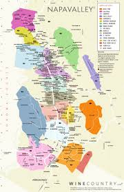 Virginia On Map by Napa Valley Wine Country Maps Napavalley Com