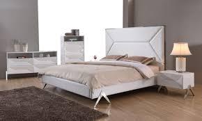 Buy Platform Beds Or Modern Beds In Modern Miami - White bedroom furniture set for sale