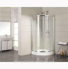 2 doors quadrant sliding doors bathroom glass shower enclosure