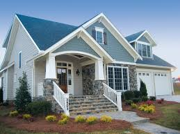 average size and functional cute home with front porch home