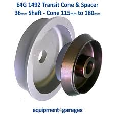 transit cone and spacer wheel balancer 36mm shaft