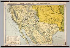 Mexico Map 1800 by Mexico Spanish Frontier David Rumsey Historical Map Collection