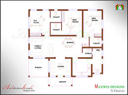 Contemporary Style House Plans Absolutely Smart Single Floor 4 Bedroom House Plans In Kerala 1