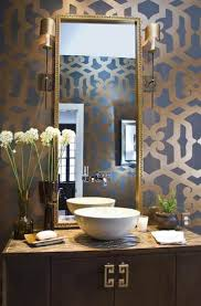 Wallpapers Designs For Home Interiors by Best 25 Gold Powder Ideas On Pinterest Feminine Bathroom