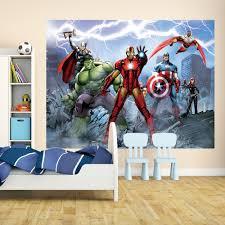 mural wallpaper murals photo murals i want wallpaper 1 wall marvel avengers assemble giant wall mural comic iron man thor captain america