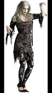 Girls Zombie Halloween Costumes Juniors Girls Zombie Costume Ripped Dress Leggings Fancy Halloween