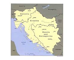Western Europe Political Map by Maps Of Yugoslavia Detailed Map Of Yugoslavia Former Yugoslavia