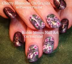 Robin Moses Nail Art by Robin Moses Nail Art Cherry Blossom Nail Art 2016 Full Length