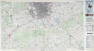 San Antonio Texas Map Texas Topographic Maps Perry Castañeda Map Collection Ut