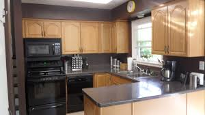 Good Colors For Kitchen Walls With Oak Cupboards Kitchen Wall - Good color for kitchen cabinets