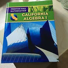 Prentice Hall Math Algebra   Student Edition        images about