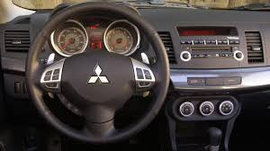 2012 mitsubishi lancer se review notes sporty looks and