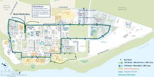 Bc Campus Map Ubc Community Shuttle Routes Planning Ubc Ca