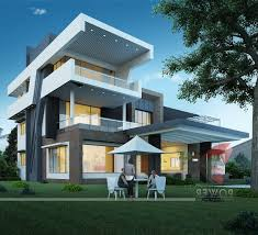 ultra modern house plans designs 4132