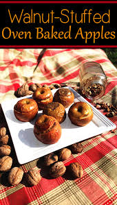 easy quick thanksgiving dessert recipes walnut stuffed oven baked apples u2013 perfect healthy thanksgiving