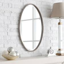 Ideas For Bathroom Mirrors Oval Bathroom Mirrors Beautiful Home Design By John