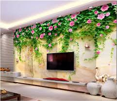 popular swan wallpaper buy cheap swan wallpaper lots from china custom mural photo 3d room wallpaper swan lake marble flower vine home decor painting 3d wall